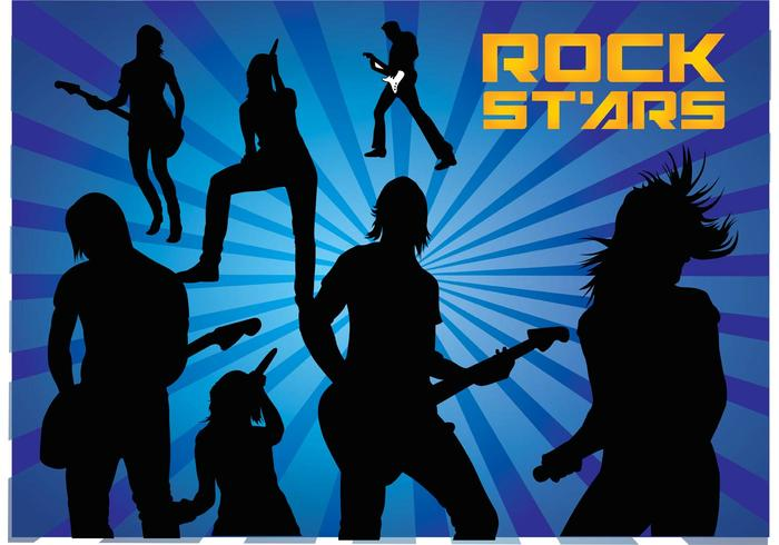 Rock Stars Silhouettes