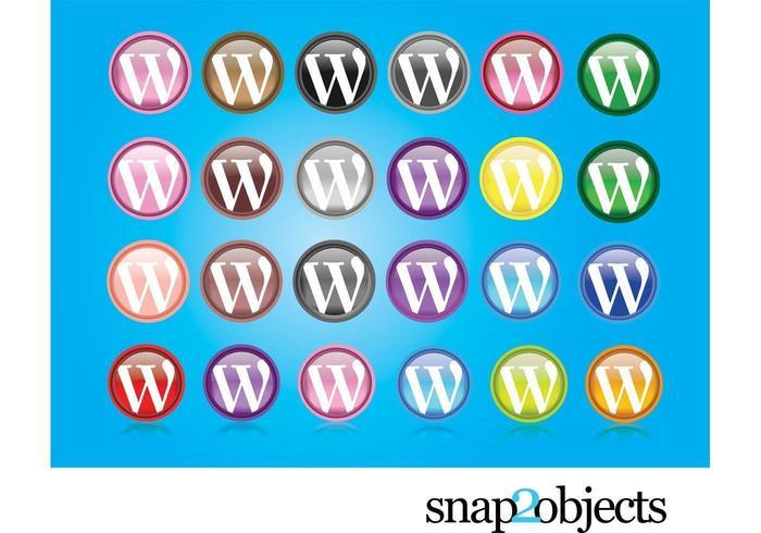 Logotipos do Wordpress