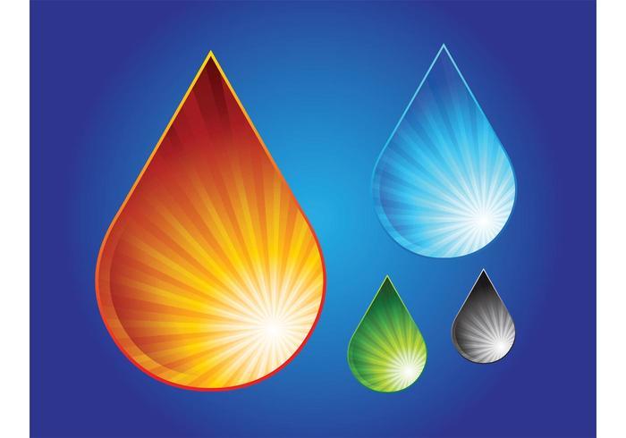 Vattendroppsgrafik