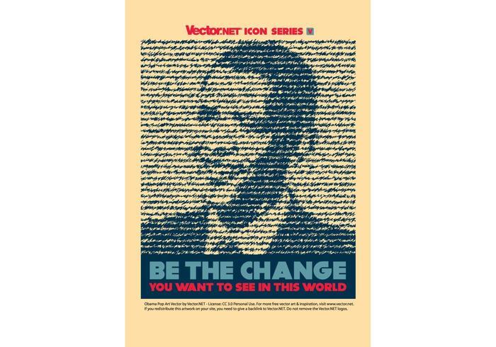 Obama Change Vector