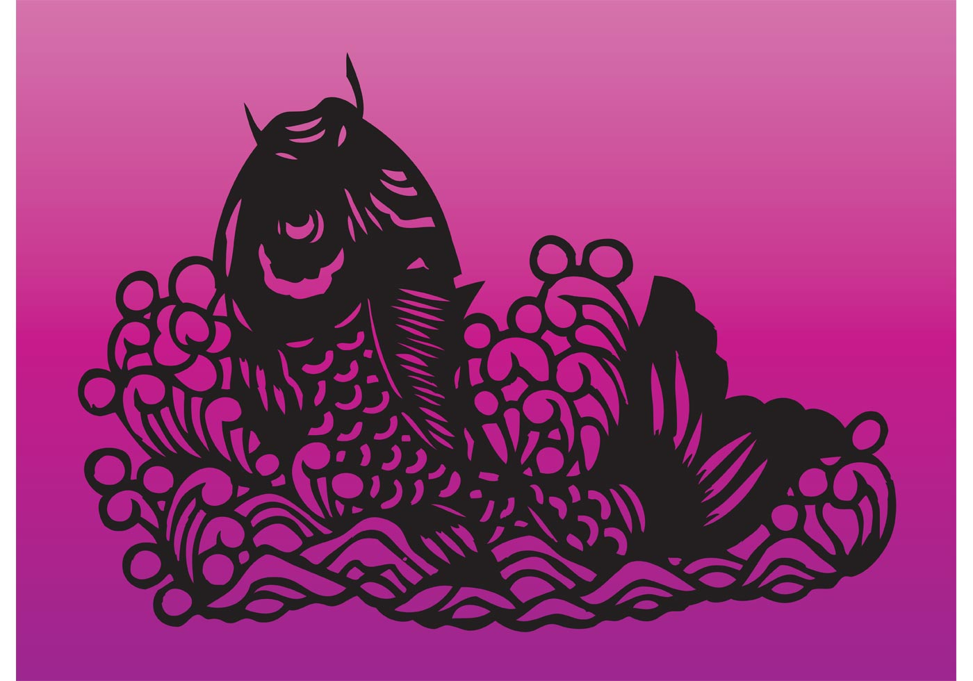 Koi fish free vector art 2186 free downloads for Koi fish vector