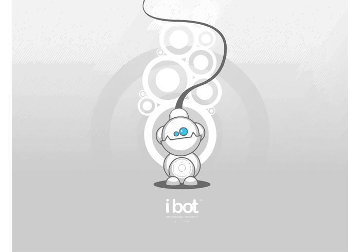 iBot Robot Cartoon