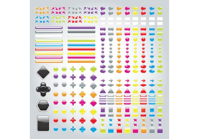 Labels Buttons