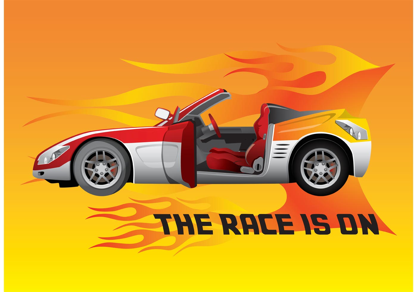 Race Car Download Free Vector Art Stock Graphics Amp Images