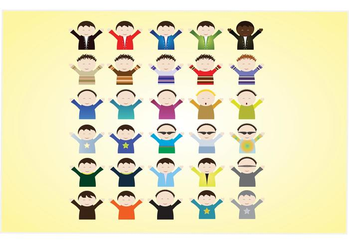 Kids Cartoon Vectors