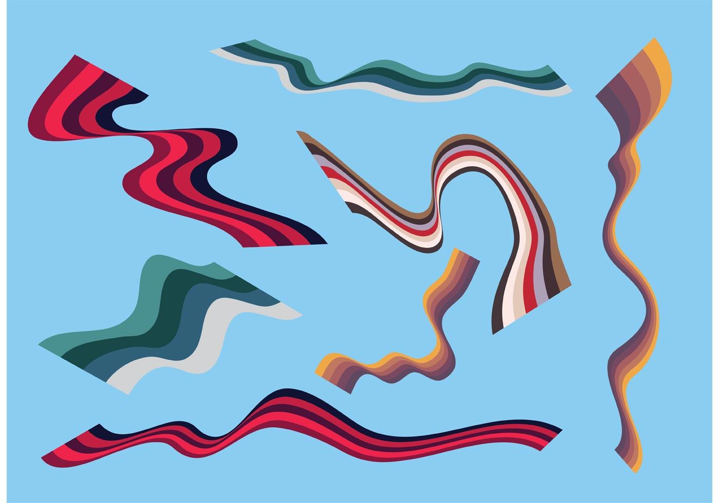 ribbon vector graphics download free vector art stock