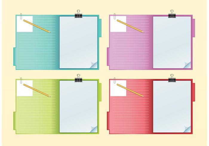 Notebook Vectors