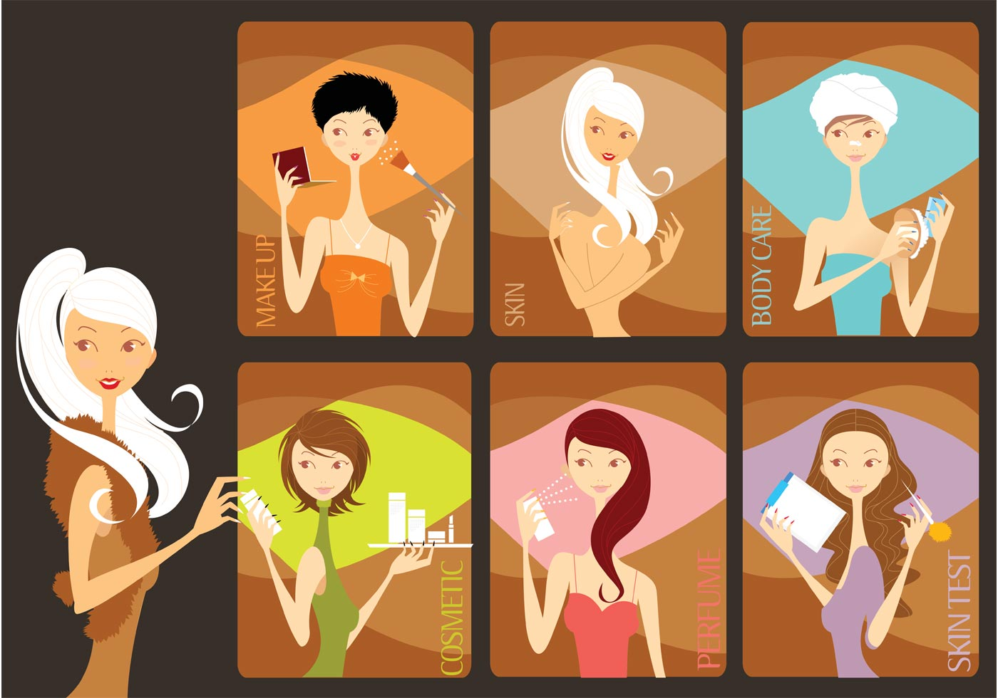 Beauty Salon - Download Free Vector Art, Stock Graphics ...