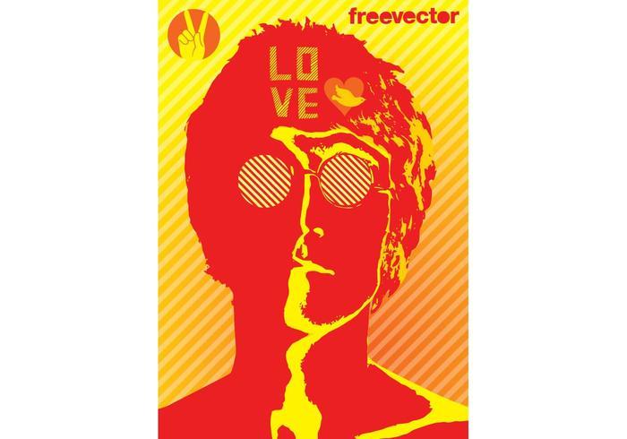 John Lennon Vector