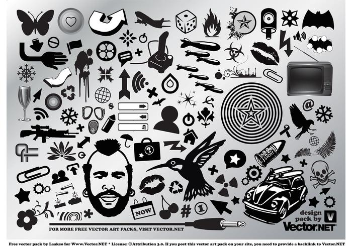 Cool Vector Graphic Set