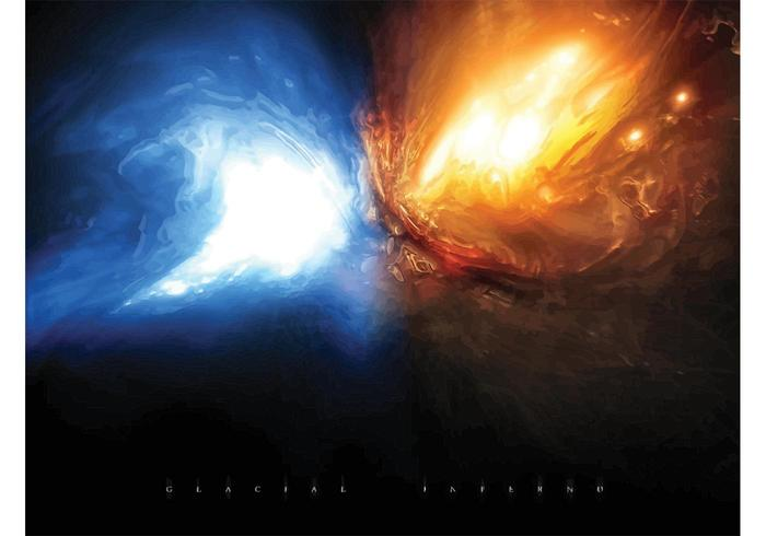 Glacial Fire Explosion