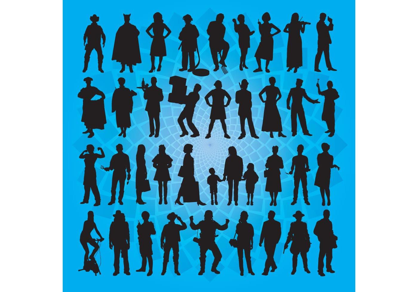 People Vector Art - Download Free Vector Art, Stock ...