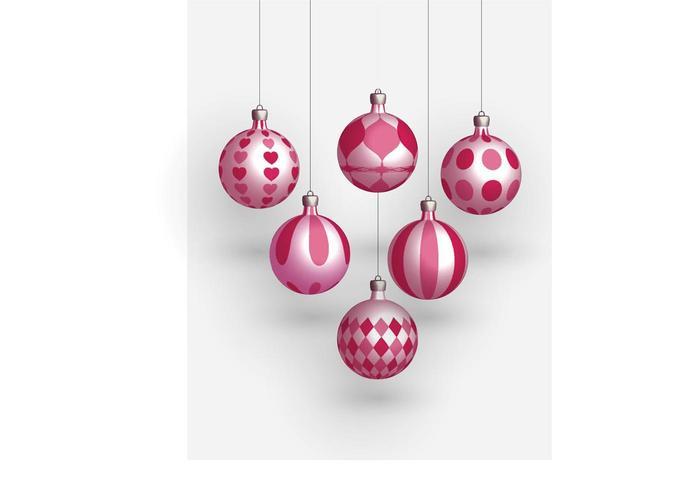 Christmas Balls Vectors