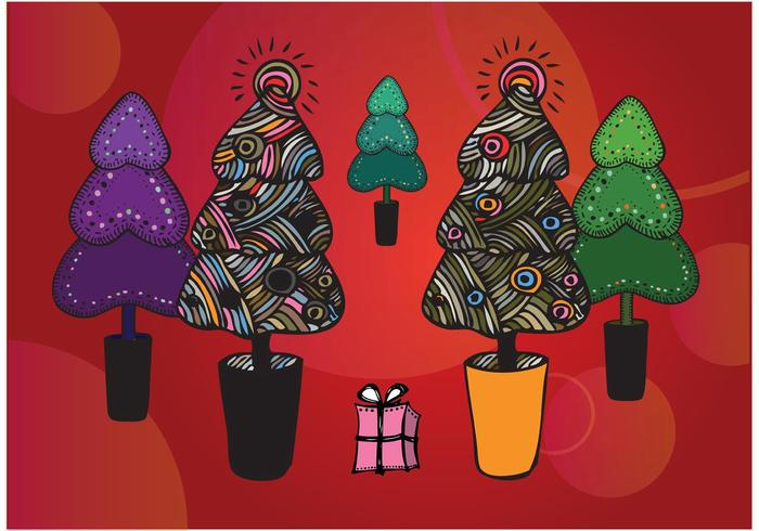 Free Christmas Tree Illustrations