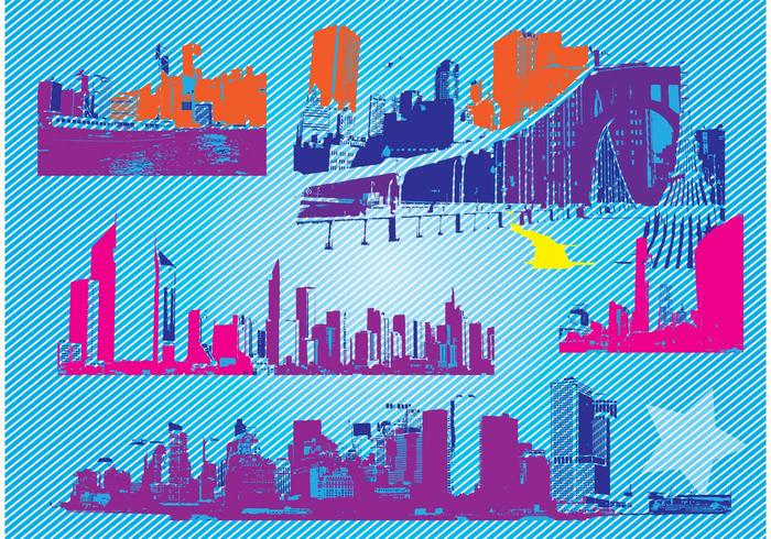 Free City Vector Graphics