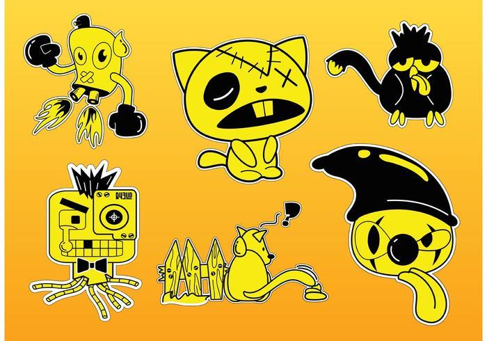 Comic Characters Vectors