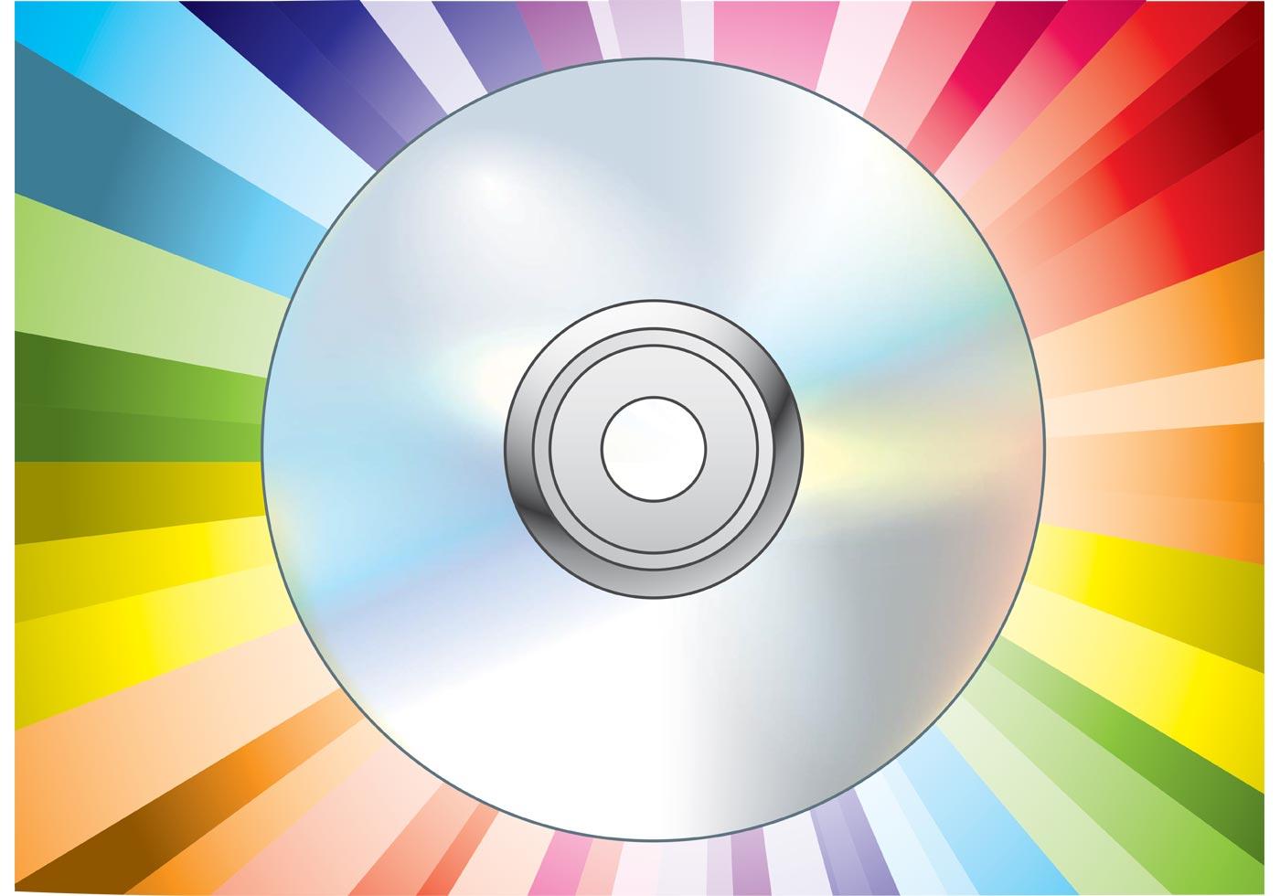 Cd Dvd Disc Vector Download Free Vector Art Stock