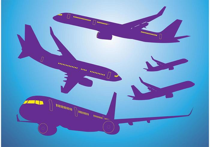 Airplanes Vectors