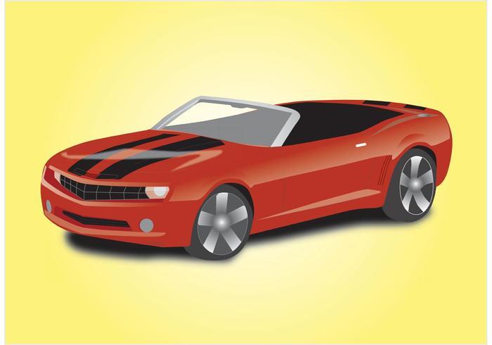 Sportwagen Cabriolet vektor