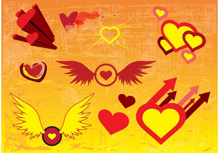 Free Vector Heart Images