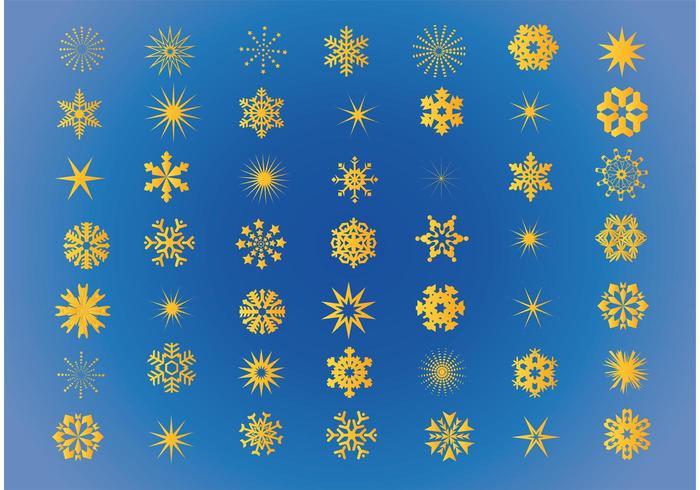 Free Snowflakes Vectors