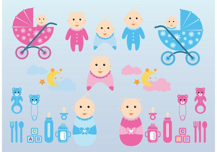 Vector Baby Graphics
