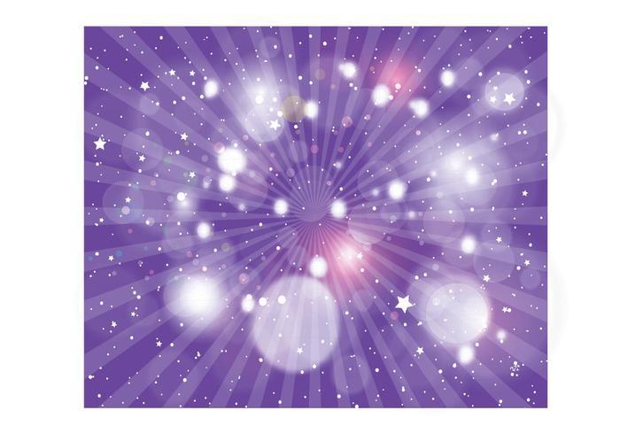 Purple Radiant Background