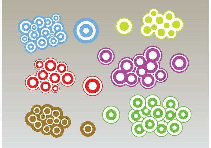 Circles Bubbles Vectors