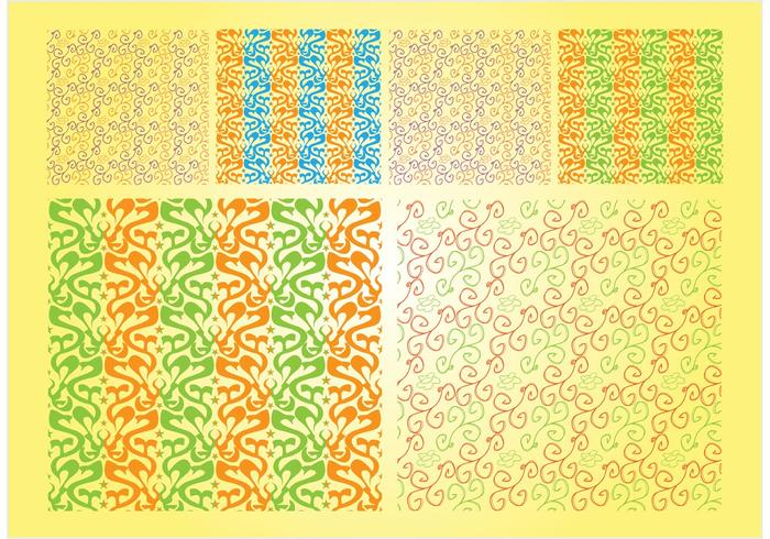 Organic Vector Patterns