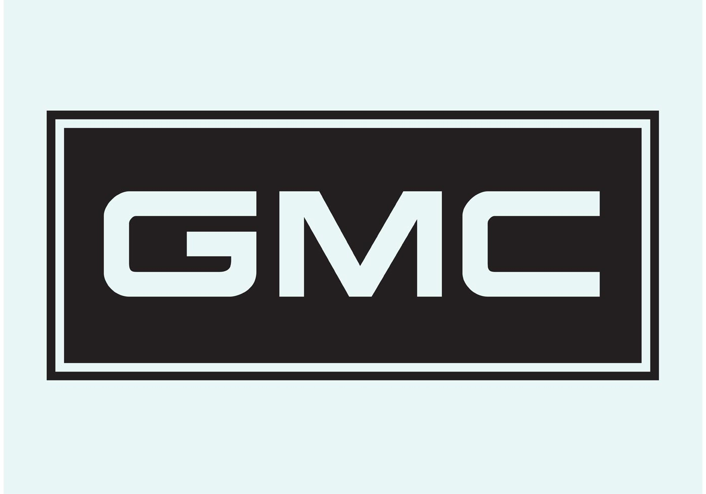 General Motors Vector Logo on Largest Cadillac Engine