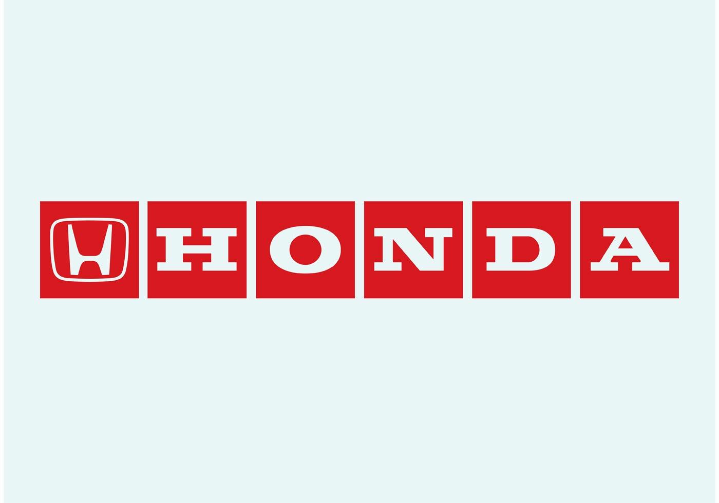 Honda Logo - Download Free Vector Art, Stock Graphics & Images Honda Motorcycle Logo Vector