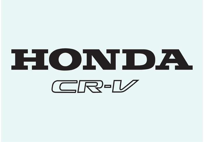 Honda cr-v vecteur