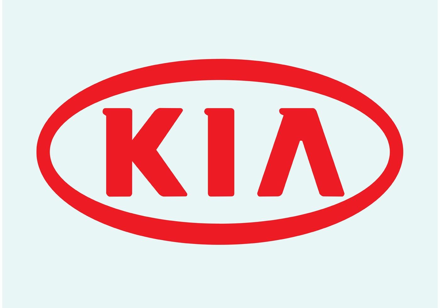 логотип в векторе hyundai - kia