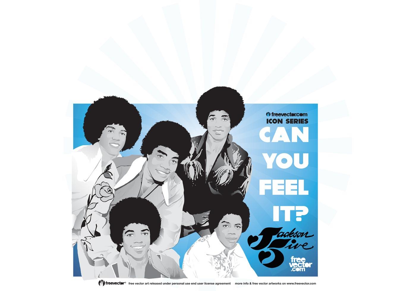 Jackson 5 Vector Download Free Vectors Clipart Graphics