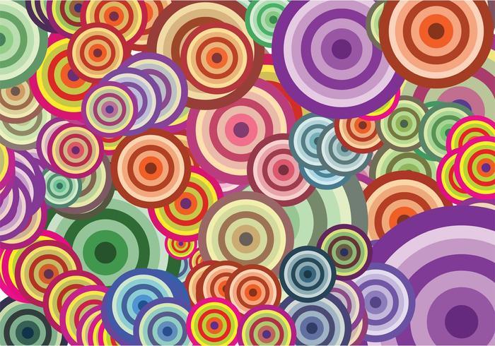 Colorful Circles Vectors
