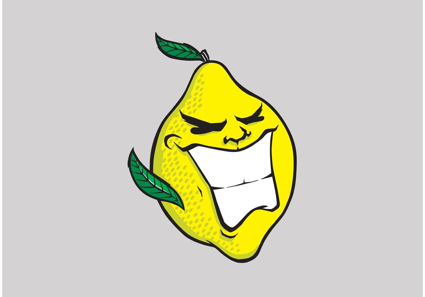Смешные рисунки с лимоном