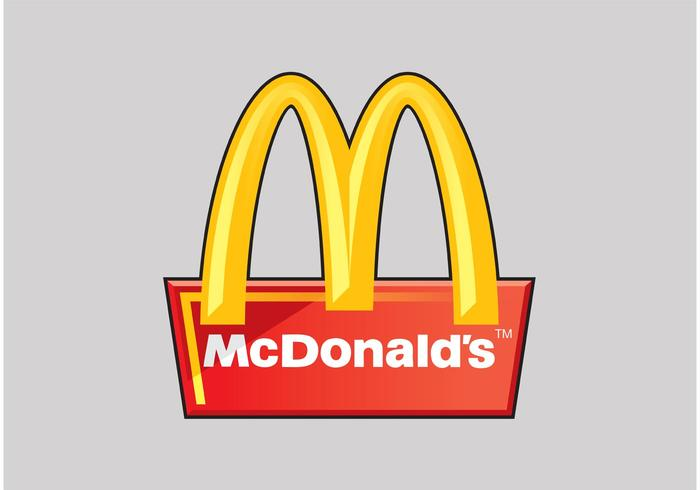 mcdonald s vector logo download free vector art stock graphics rh vecteezy com mcdonald's logo vector png macdonald logo 2016 vector