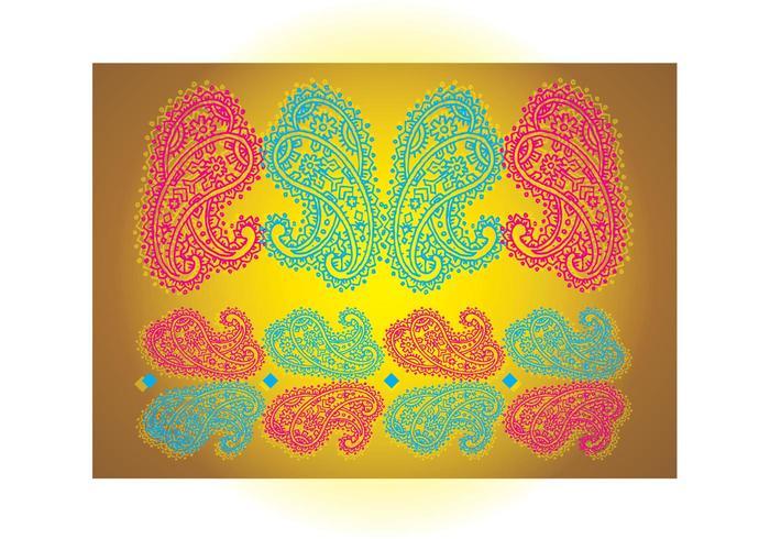 Paisley Print Vector
