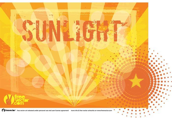 Sonnenlicht Vektor Hintergrund