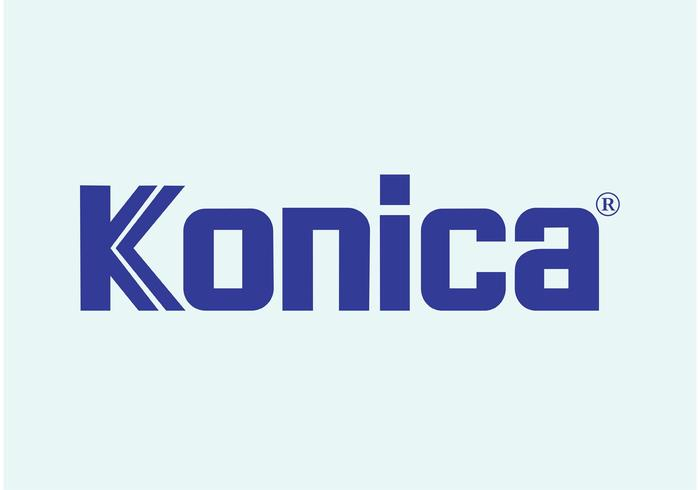 konica vector logo download free vector art stock