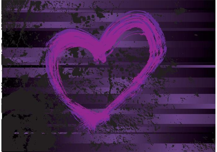 Purple Heart Vector