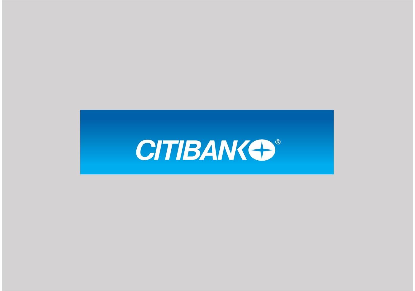 Citibank logo vector