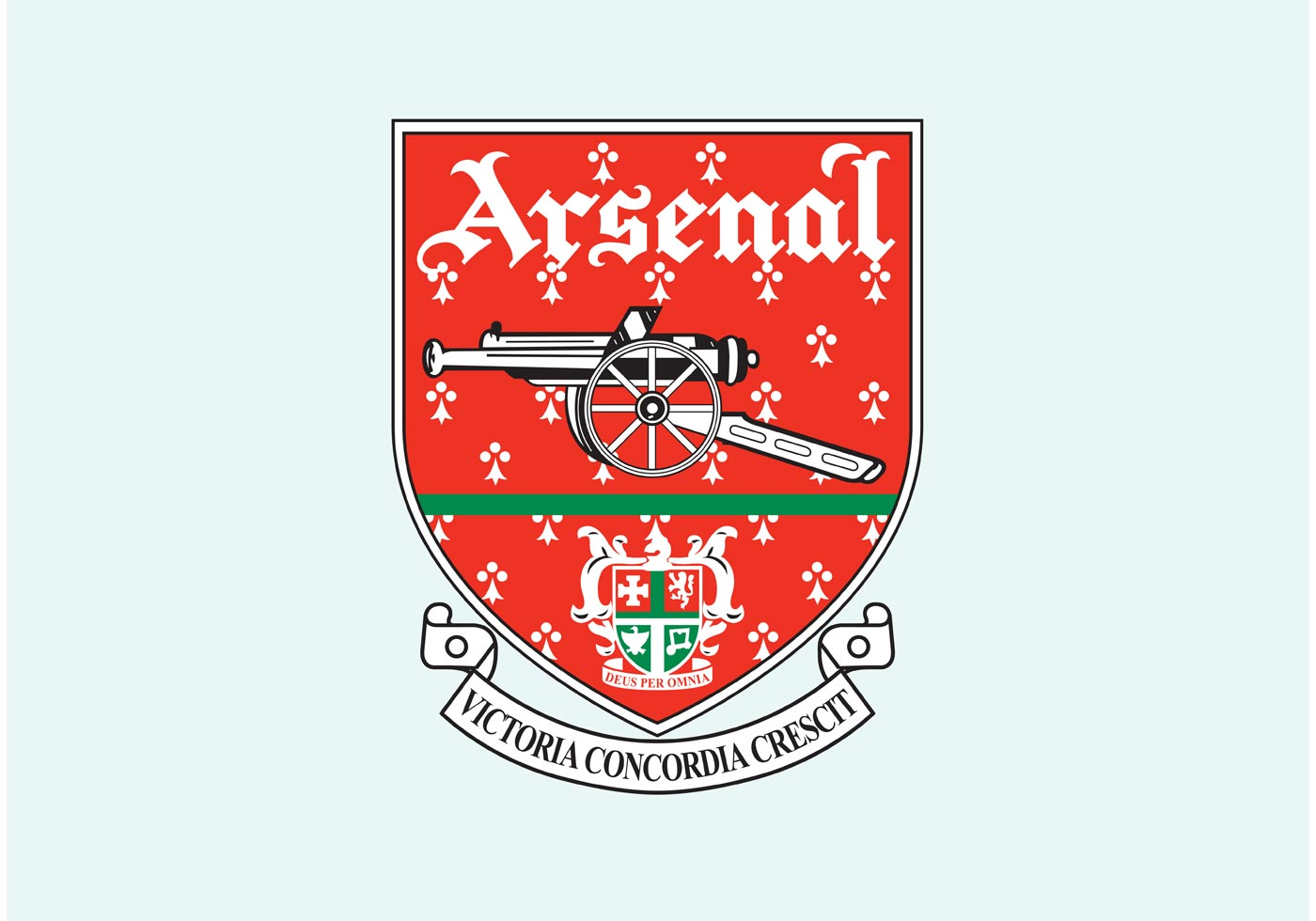 Arsenal FC - Download Free Vector Art, Stock Graphics & Images Arsenal Logo Vector