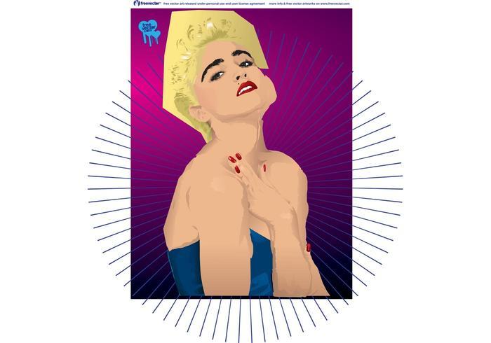 Madonna Vector