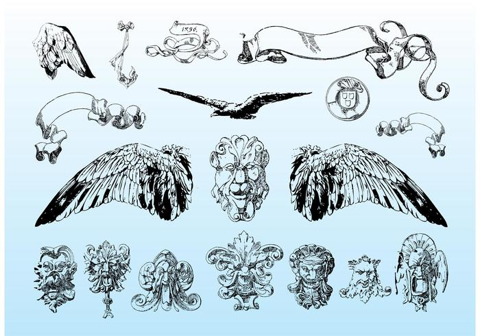 Download Antique Vectors
