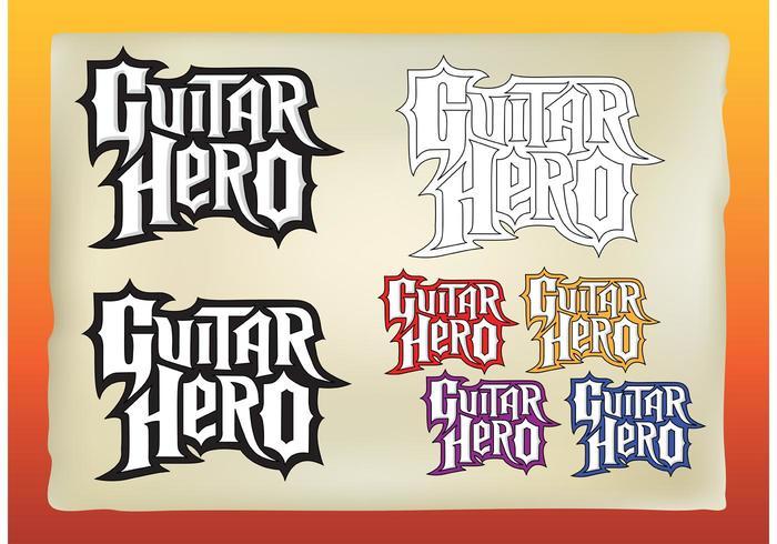 vecteurs de guitar hero