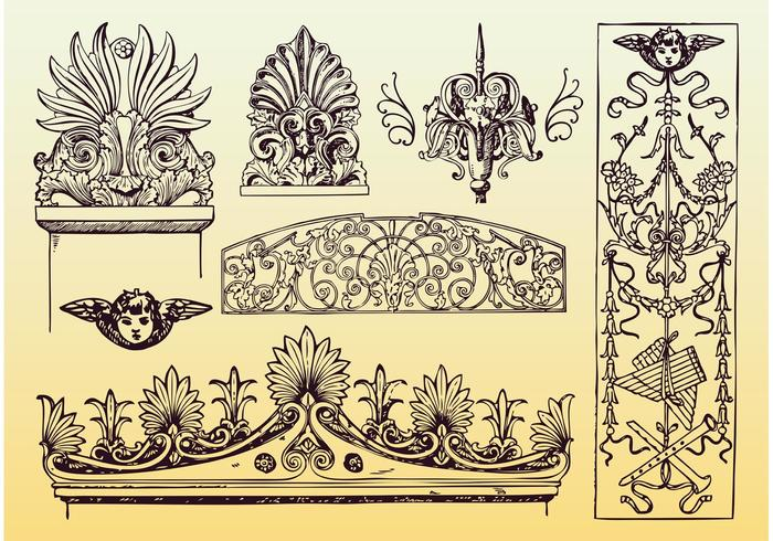 Antique Decoration Vectors