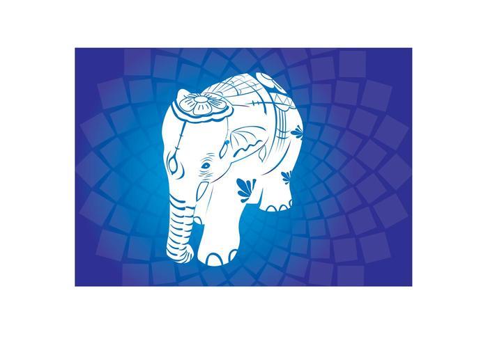 Asian Elephant Vectors
