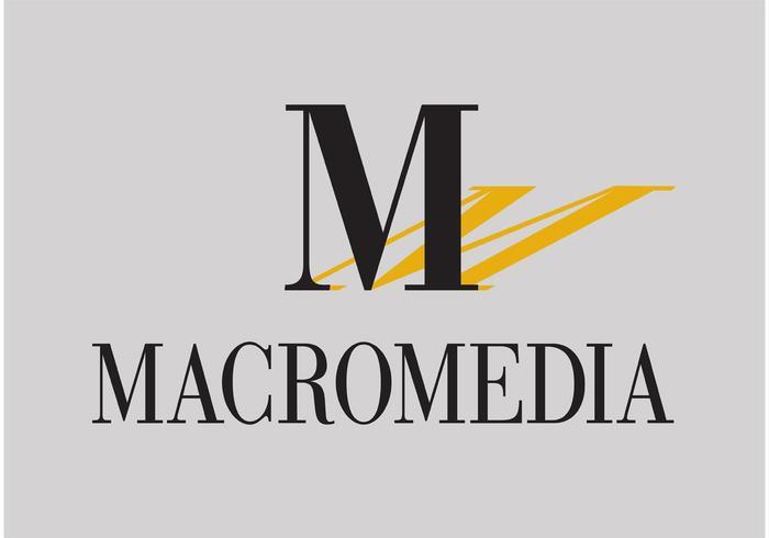 Logo vectoriel Macromedia
