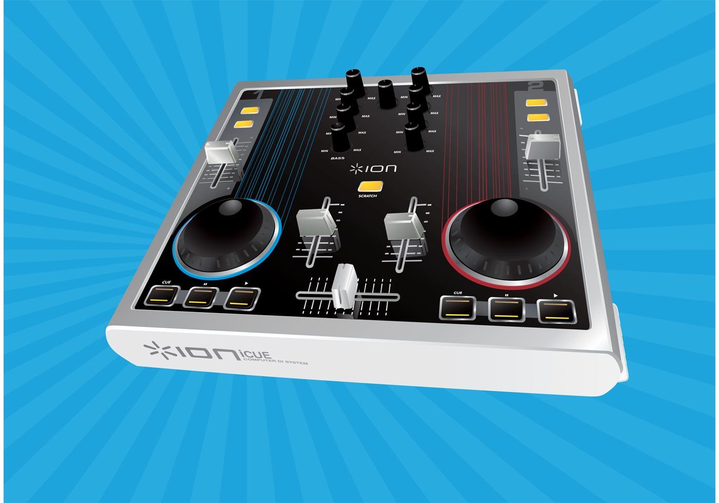 Audio Mixer Vector Download Free Vectors Clipart